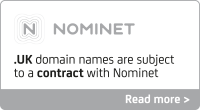 Nominet's terms and conditions